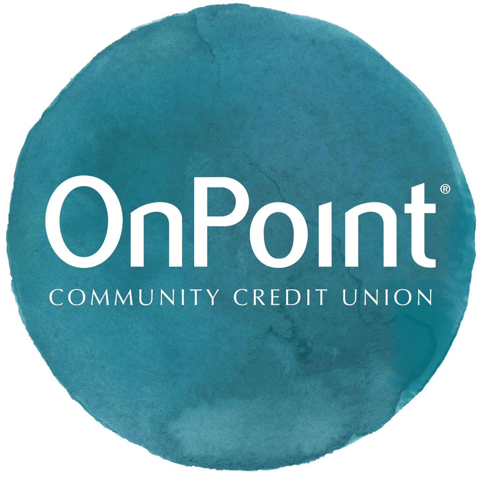 Event Sponsor, OnPoint Community Credit Union